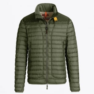 - Arthur Lightweight Puffer Jacket - Military