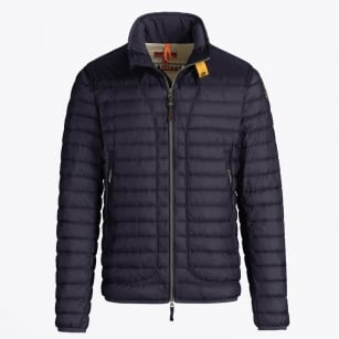 - Arthur Lightweight Puffer Jacket - Prussian Blue