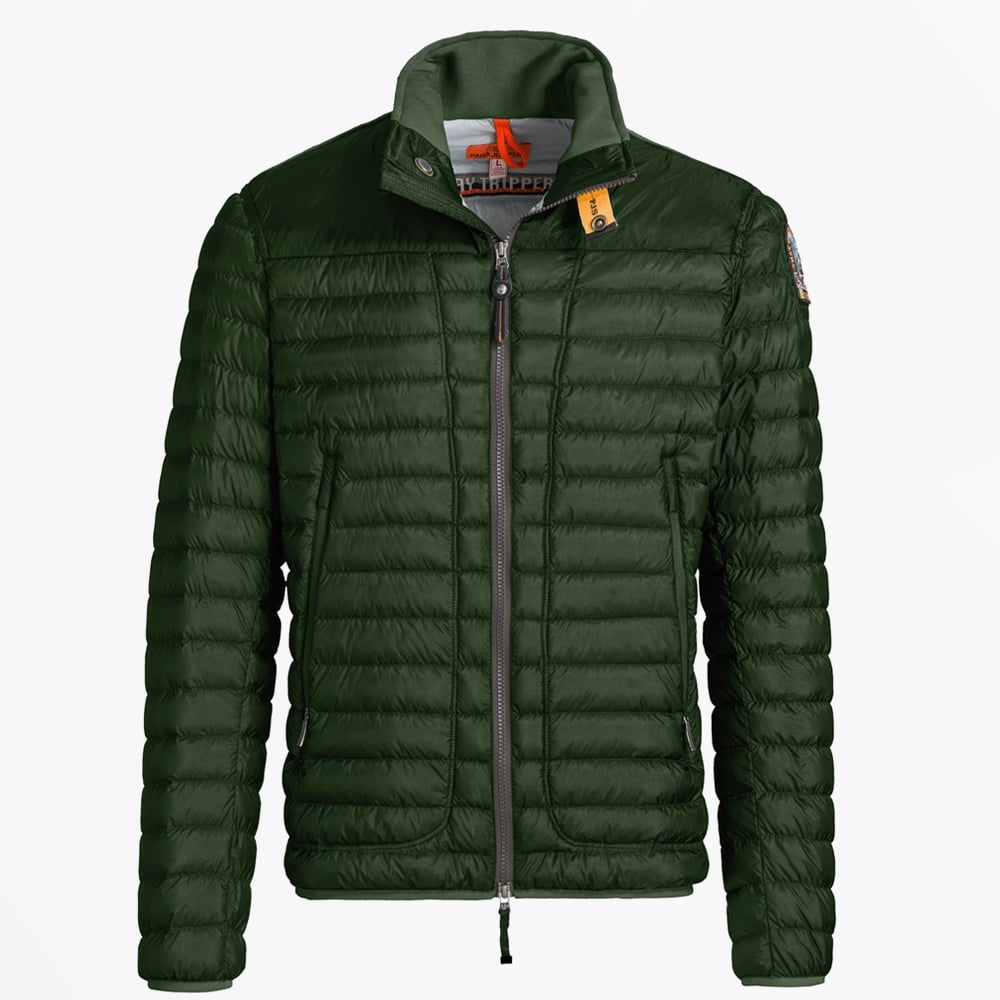 Men S Parajumpers Arthur Puffer Jacket Cactus Mr