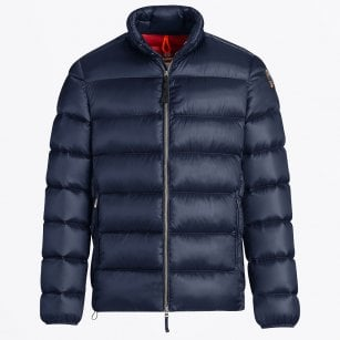 - Dillon Hi-Shine Puffer Jacket - Blue