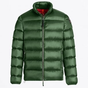- Dillon Hi-Shine Puffer Jacket - Forest Green