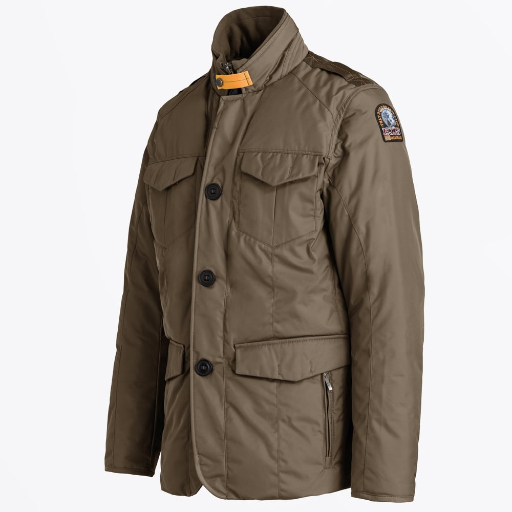 Parajumpers - Harrison Field Jacket - Olive. Hover over image to zoom.