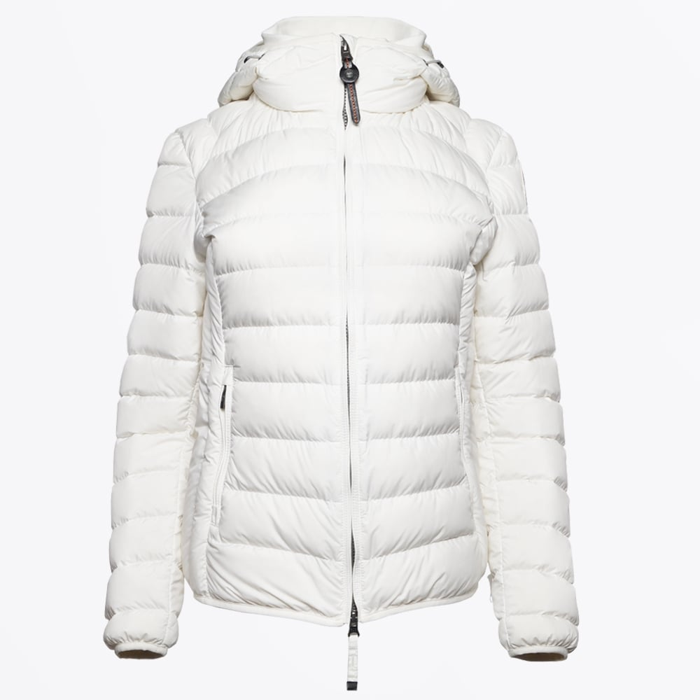 Juliet Super Lightweight Puffer Jacket - Off White | Parajumpers