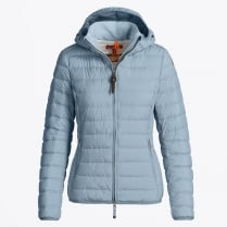 - Juliet Supper Lightweight Puffer Jacket - Sterling Blue