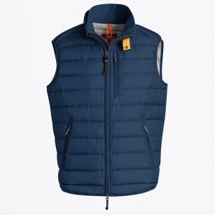 - Perfect Lightweight Padded Gilet - Indigo Blue