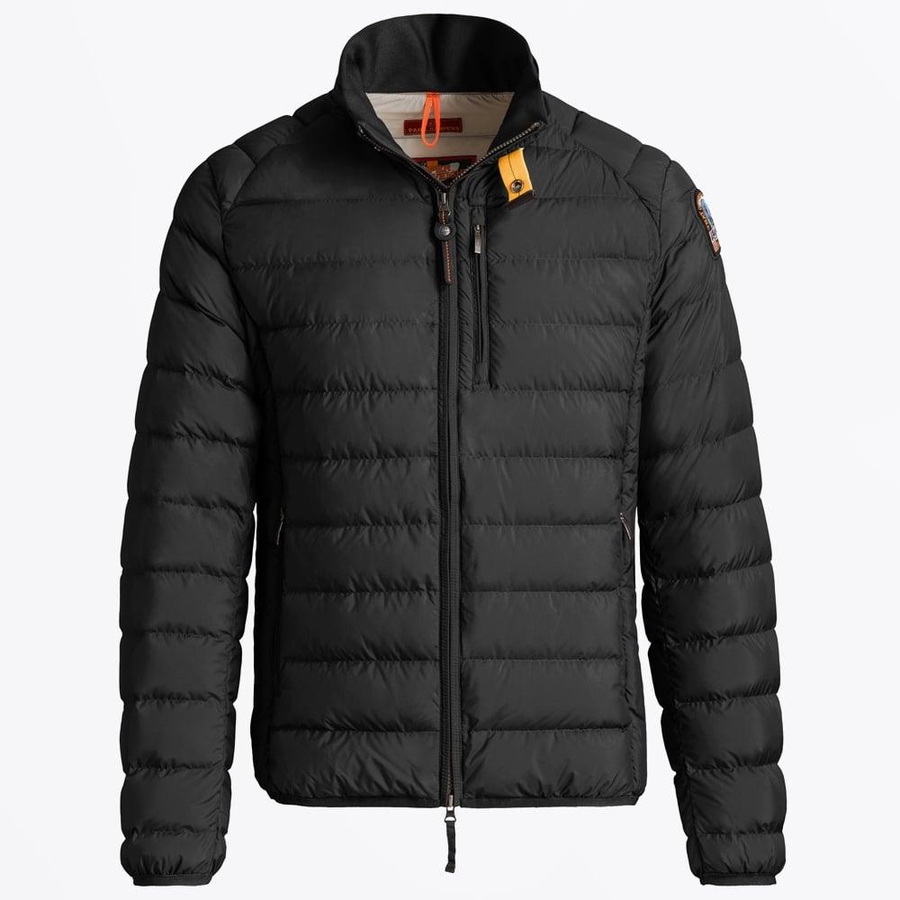 ugo super lightweight jacket black mens winter jackets parajumpers. Black Bedroom Furniture Sets. Home Design Ideas