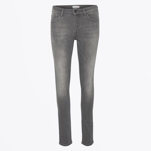 Part Two - Alice II Washed Skinny Jeans - Grey