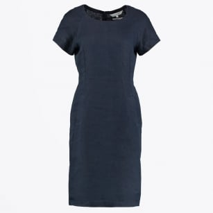 - Aundreas Shift Dress - Dark Navy