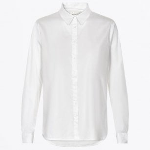 - Bimini - Stretch Poplin Shirt - White