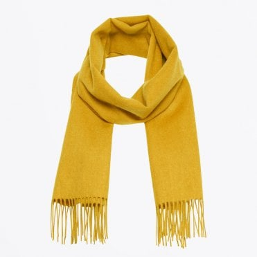 - Cita - Wool Scarf - Lemon