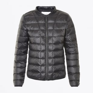| Downie Down Quilted Jacket - Black