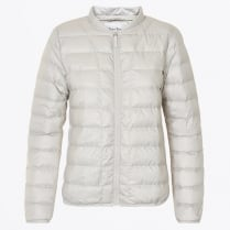 - Downie Puffa Jacket - Dark White