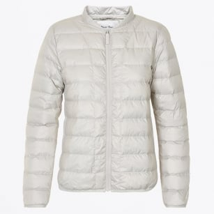 | Downie Puffa Jacket - Dark White