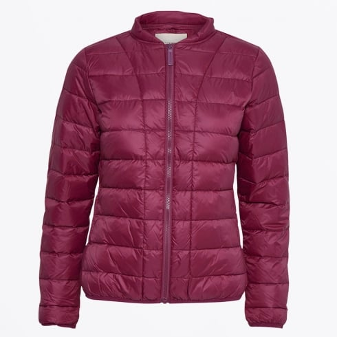 Part Two - Downie Quilt Jacket - Beet Red