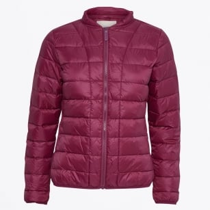 - Downie Quilt Jacket - Beet Red