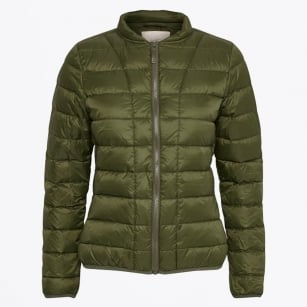 - Downie Quilt Jacket - Dark Olive