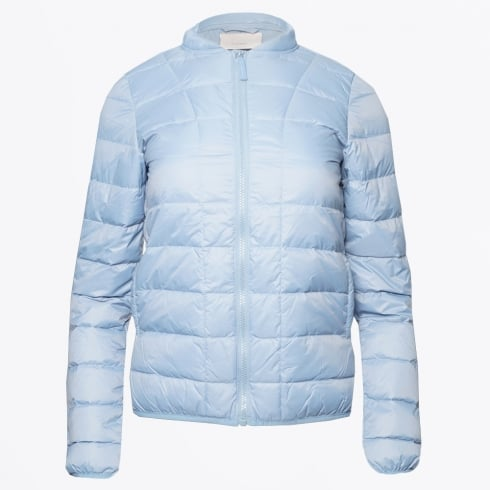 Part Two - Downie Quilted Jacket - Faded Denim