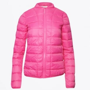 - Downie Quilted Jacket - Pink Yarrow