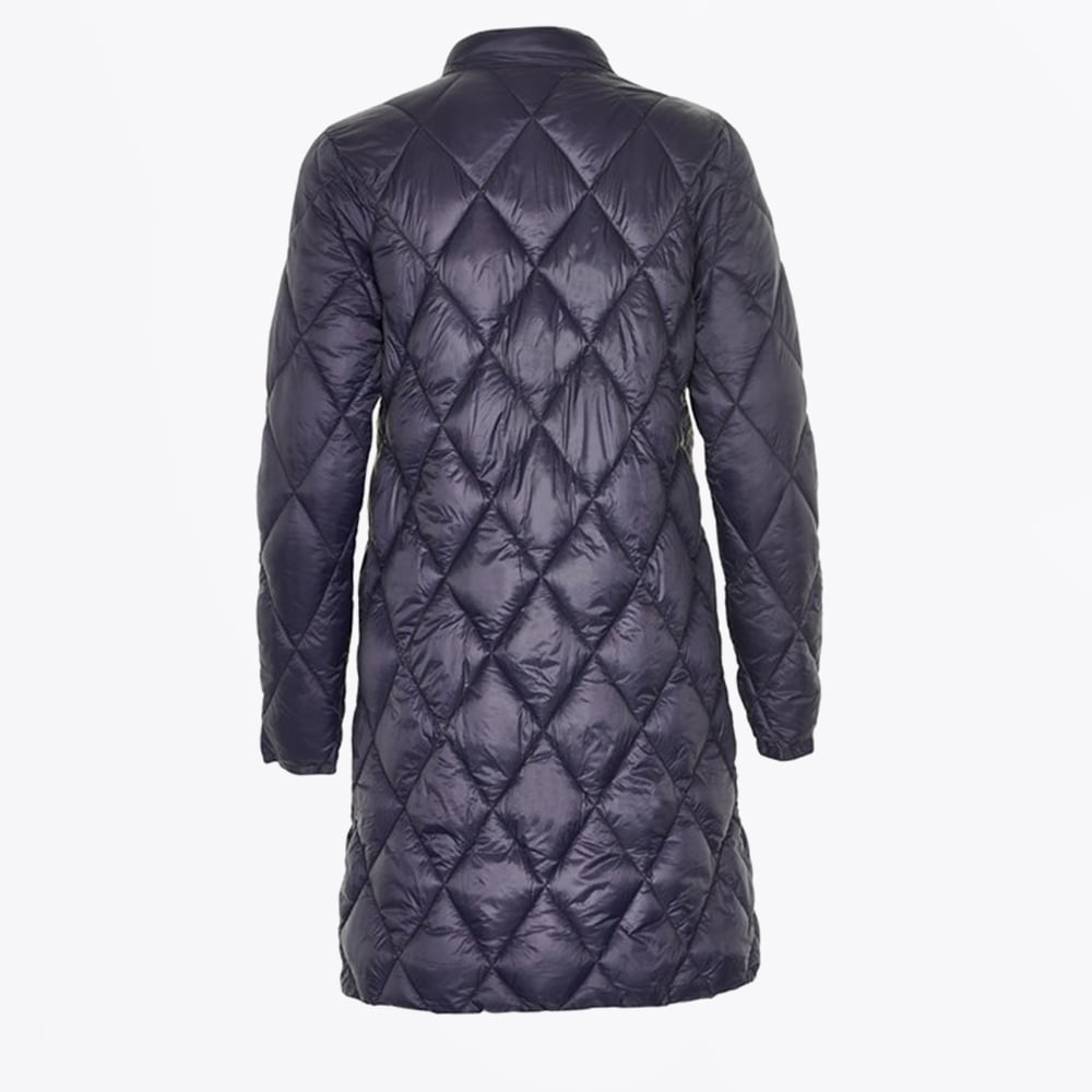 Long quilted coats for women