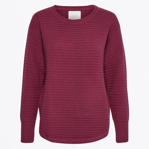 Part Two - Genova Pullover - Beet Red