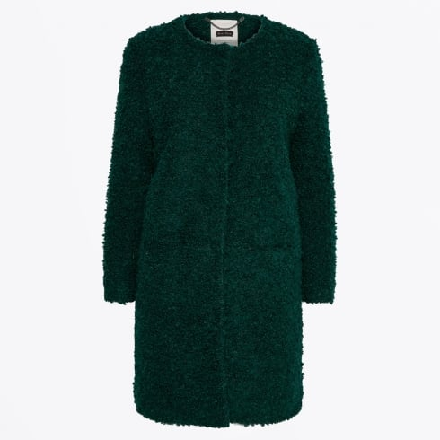 Part Two - Imami Boucle Coat - Rain Forest