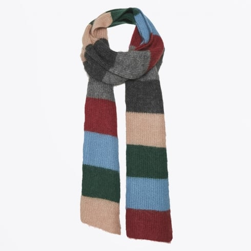 Part Two - Itna Stripe Mohair Scarf - Artwork