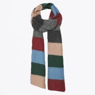 - Itna Stripe Mohair Scarf - Artwork