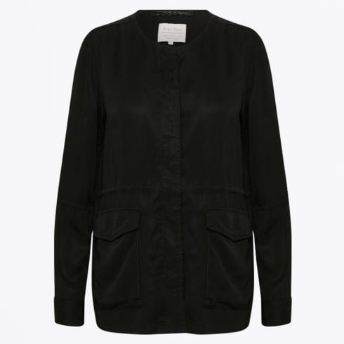 Part Two - Kimmie Collarless Jacket - Black