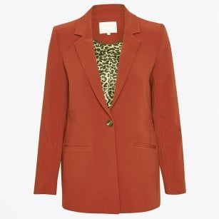 - Kylie - Boyfriend Blazer - Orange