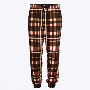 - Merris Check Trouser - Artwork Medium Pink