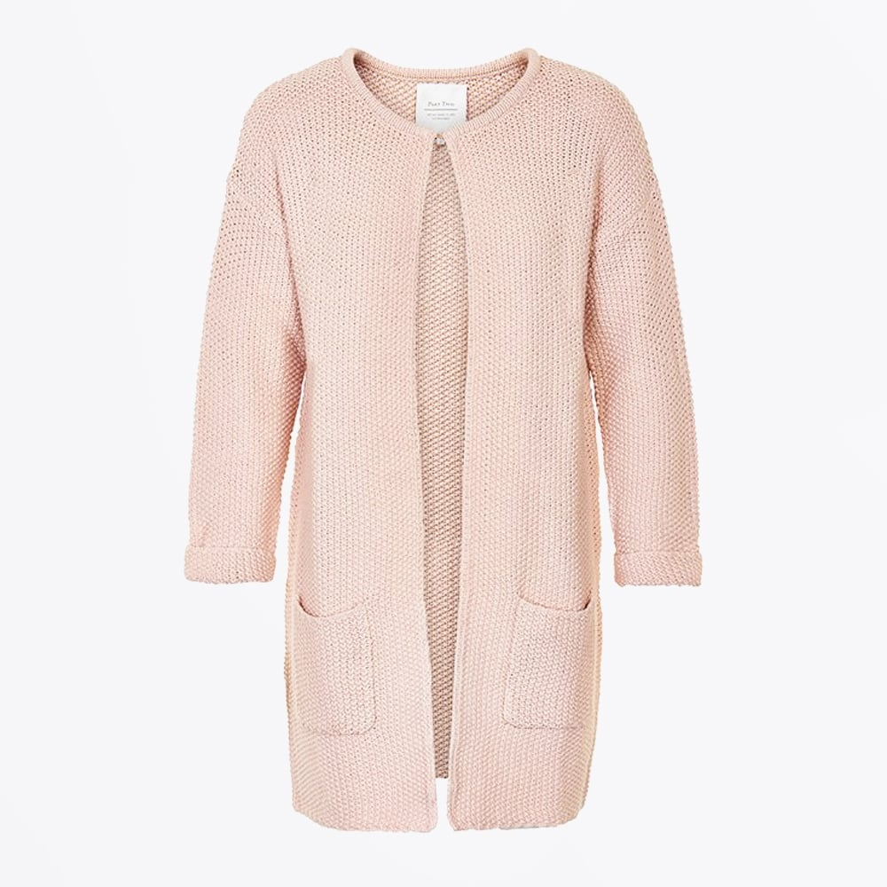 Women'S Cardigan Peach 17