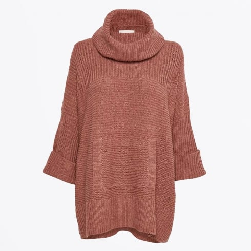 Part Two - Tocca Poncho - Dark Red