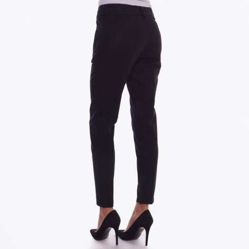 Part Two - Urban 138 Ankle Zip Trousers - Black