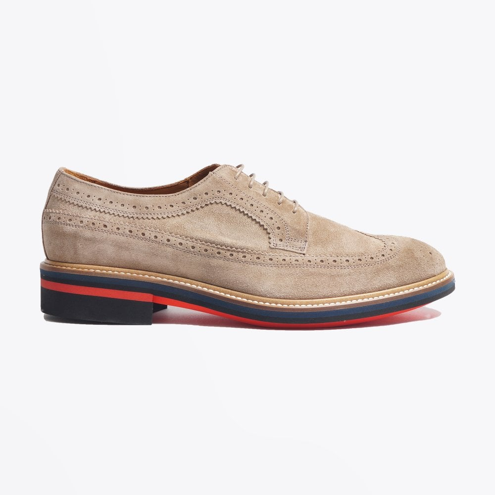 Paul Smith - Suede 'Chase' Brogues