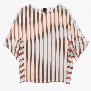 | Estintore Horizontal Stripe Top - Orange