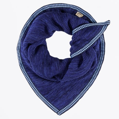 Pom Amsterdam - Knitted Horizon Cloud Scarf