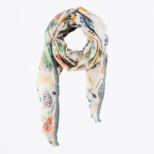 | Tropical Fruit Scarf - Multi
