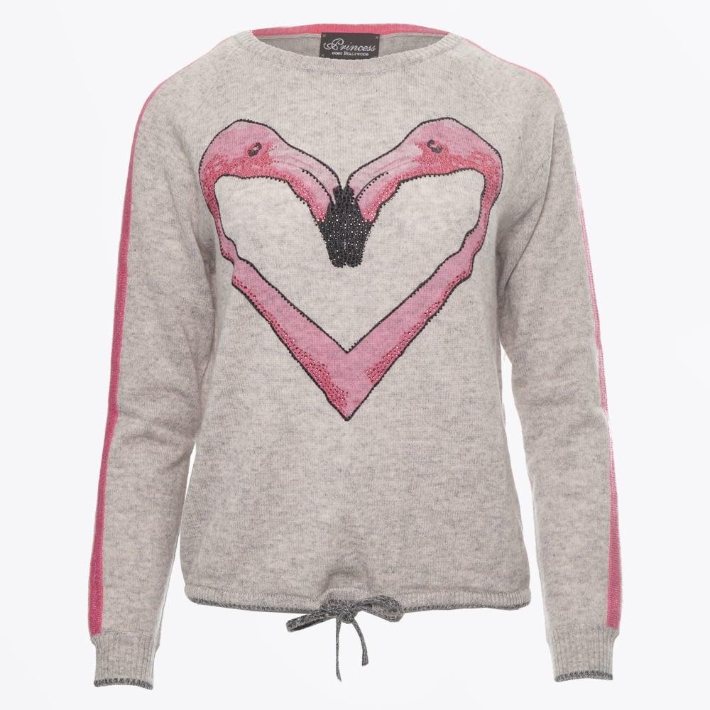 princess goes hollywood flamingo cashmere sweater mr mrs stitch. Black Bedroom Furniture Sets. Home Design Ideas