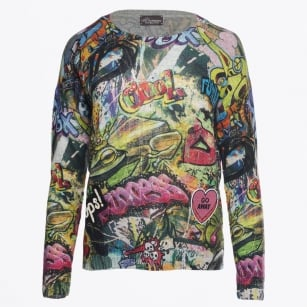 - Graffiti Sweater