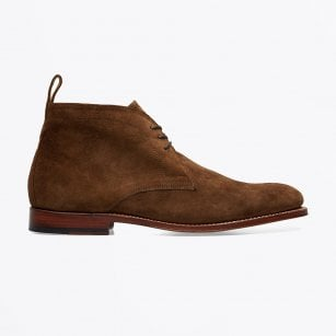 - Marcus Suede Ankle Boot - Brown