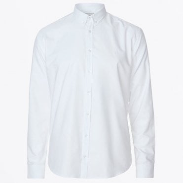 - Christoph Oxford Shirt - White
