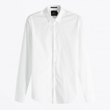 - Classic Oxford Shirt - White