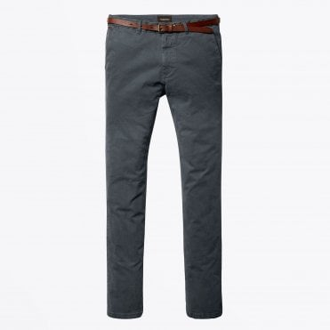 - Stuart - Slim Fit Chino - Grey