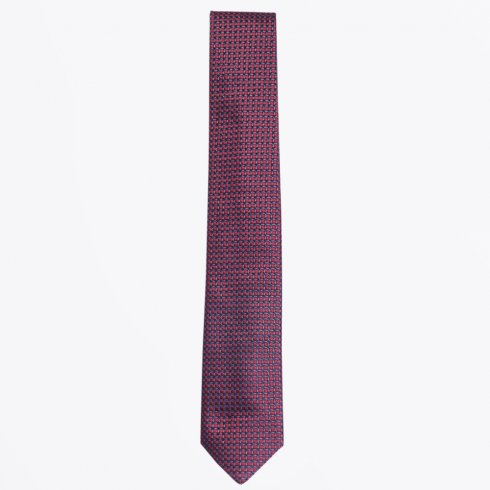 Profuomo - The Bordeaux Silk Woven Tie