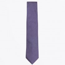 - The Gold Silk Dot Print Tie