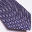 Profuomo - The Gold Silk Dot Print Tie