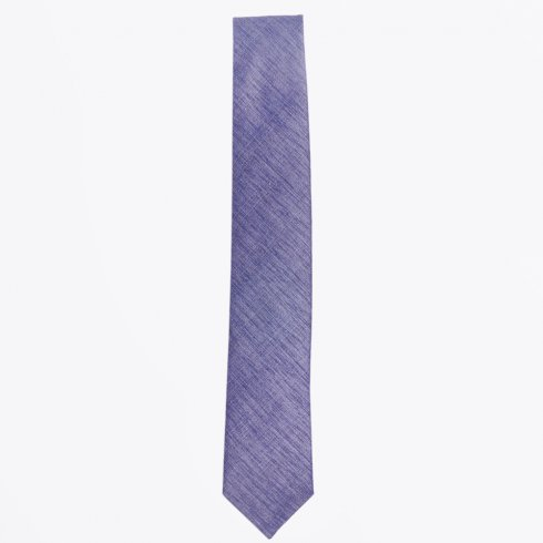 Profuomo - The Grey Silk Woven Tie