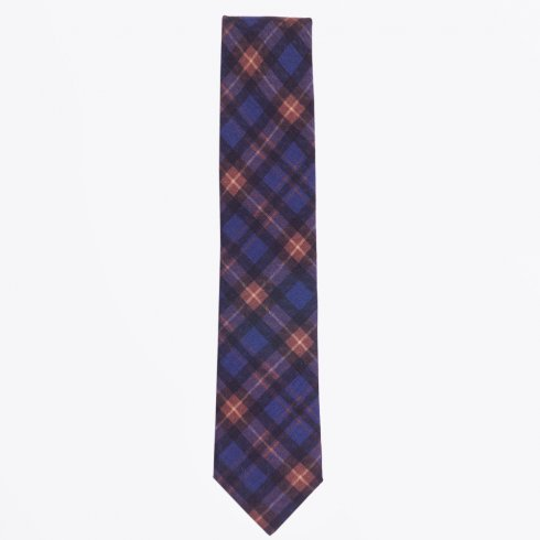 Profuomo - The Navy Wool Print Tie