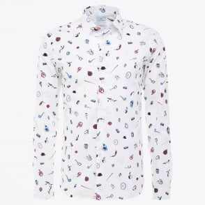 - Artful Lives Printed Shirt - White