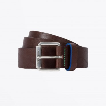 - Classic Leather Belt - Brown